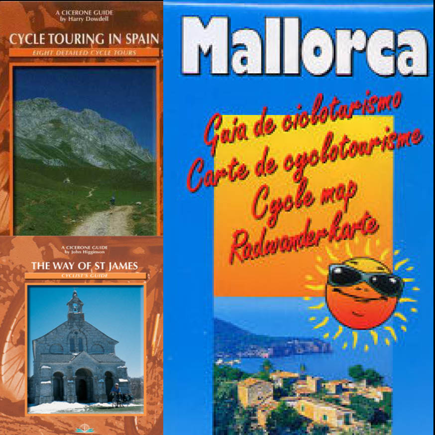 Spain cycle guides and maps