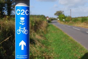 Cycle Maps and Cycle-Touring Guide Books - the Scottish C2C