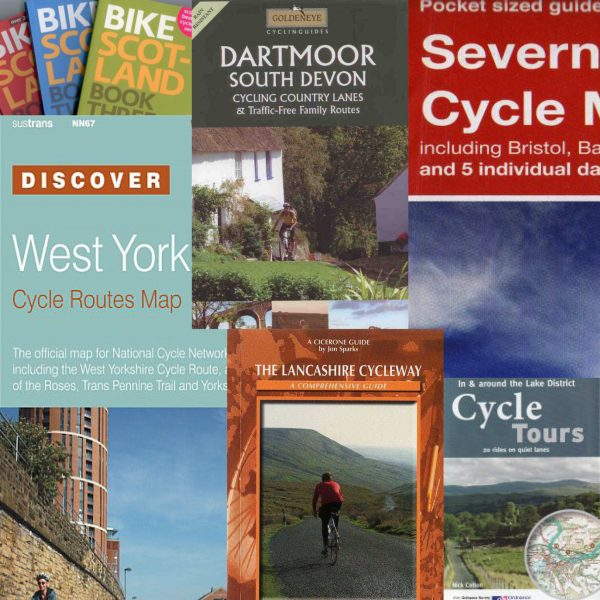 UK cycle maps and guide books