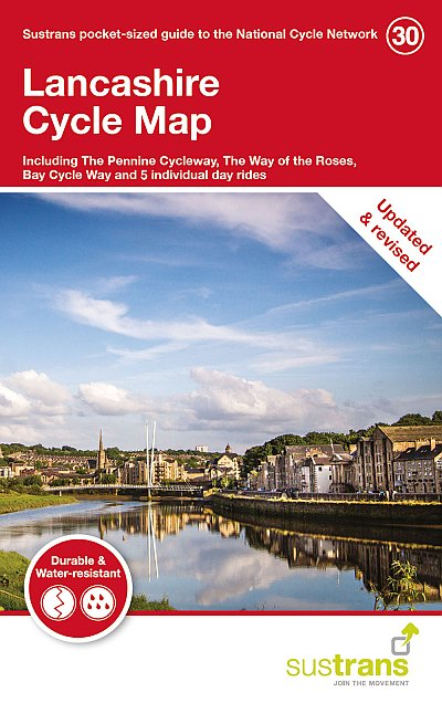 Lancashire Sustrans Cycle Map