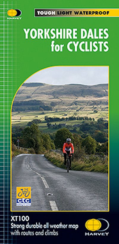 Yorkshire Dales for Cyclists from Harvey 2016