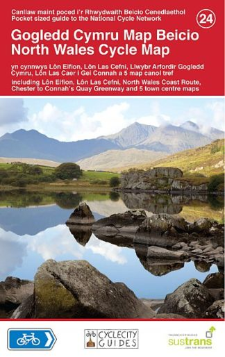 North Wales Cycle Sustrans Map