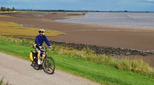Solway Firth near Annan on the Scottish C2C