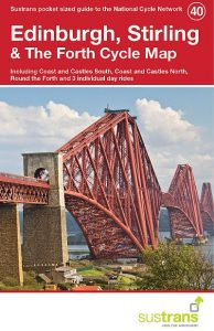 Edinburgh and Stirling Sustrans cycle map