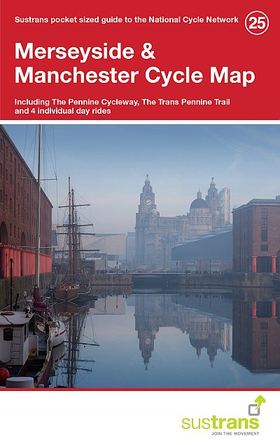 North West England cycle route maps