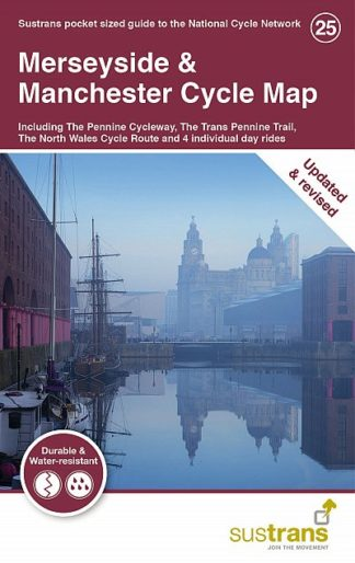 Merseyside and Manchester Sustrans Cycle Map