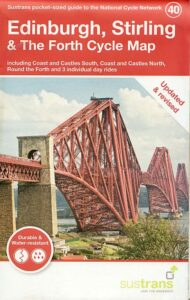 Edinburgh and Stirling Sustrans cycle map 2021