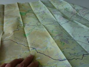 County Durham and North Yorkshire Cycle Map 2021