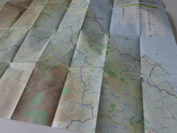 North Northumberland and the Scottish Borders Cycle Map