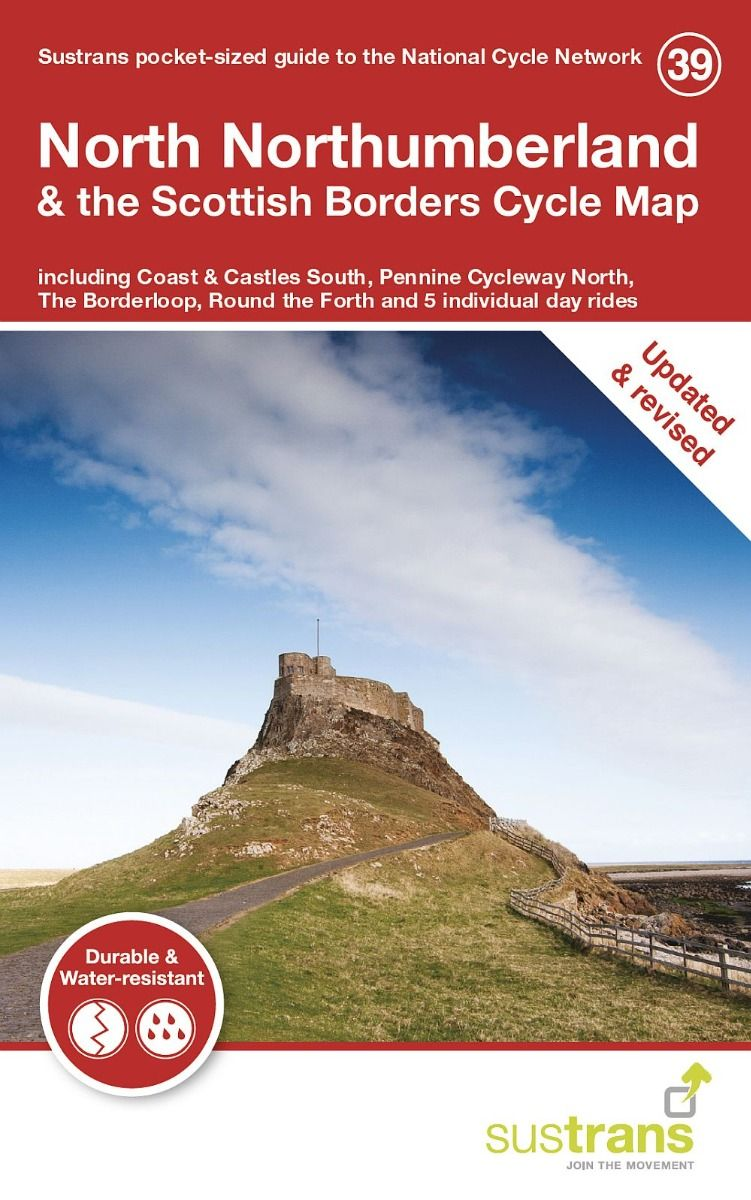 North Northumberland and the Scottish Borders Cycle Map 2021