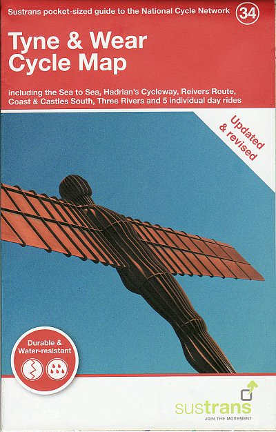 Tyne and Wear Cycle Map from Sustrans
