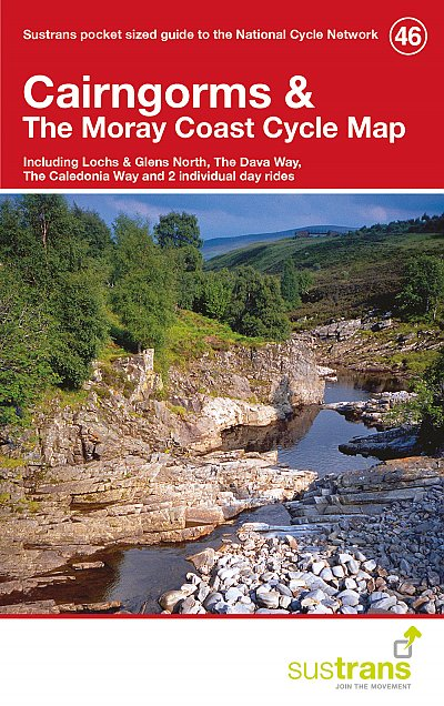 Cairngorms & The Moray Coast Sustrans Cycle Map