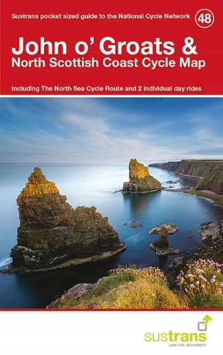 John O'Groats Sustrans Cycle Map
