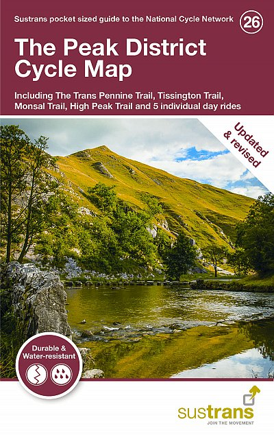 Peak District Sustrans Cycle Map 26