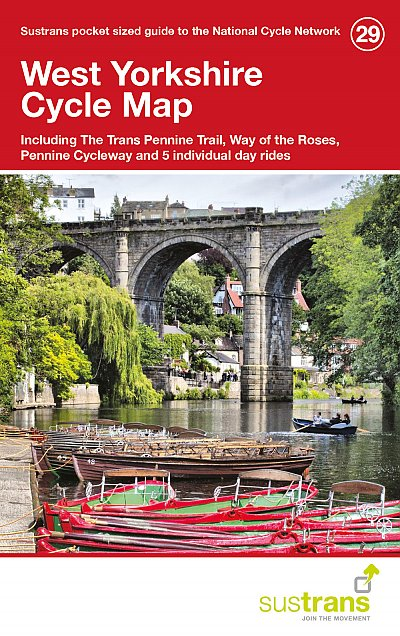 West Yorkshire Sustrans Cycle Map - pocket map