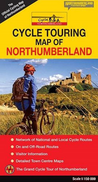 Northumberland cycle route maps and guide books