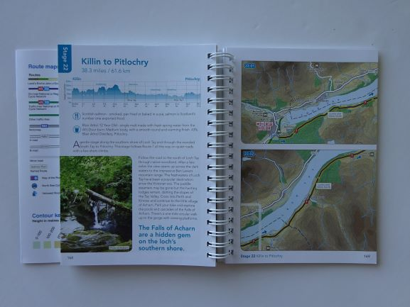 Land's End to John O'Groats on the National Cycle Network sample page - Killin to Pitlochry