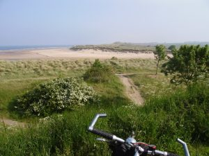 The Coast and Castles Cycle Route, number 1 in the Top 5 Sustrans Cycle Routes
