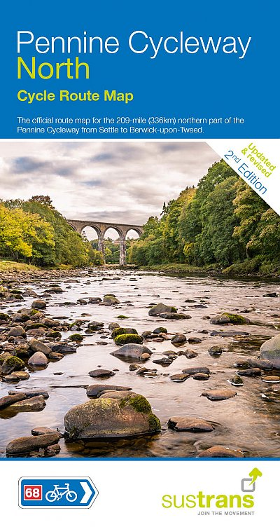 Pennine Cycleway North Sustrans Map