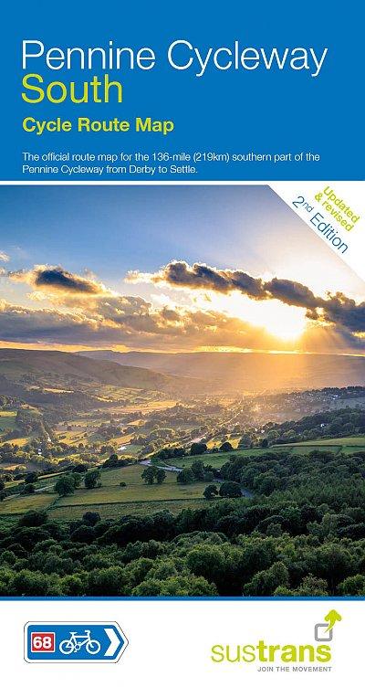 Pennine Cycleway maps