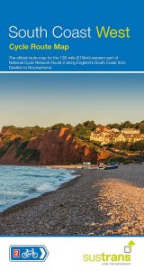South Coast West Sustrans Cycle Map