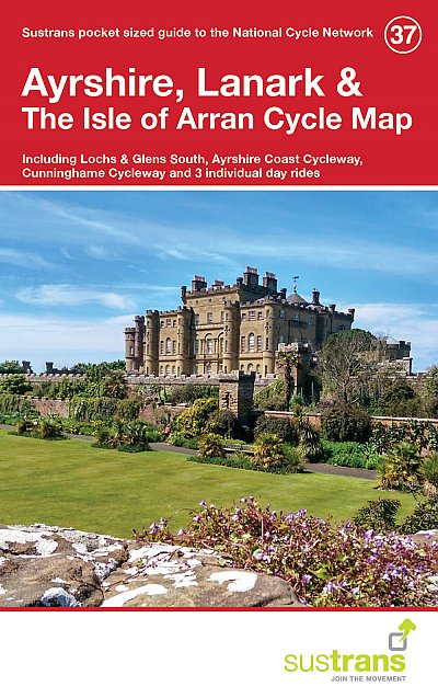 Ayrshire, Lanark & The Isle of Arran Sustrans cycle map