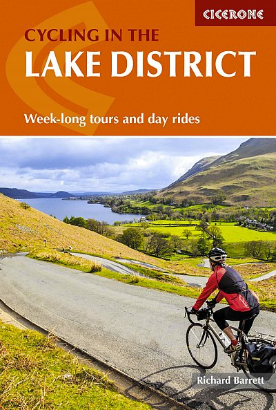 Cycling in the Lake Distict Cicerone Guide Book