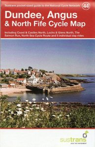 Dundee, Angus & North Fife Sustrans Cycle Map