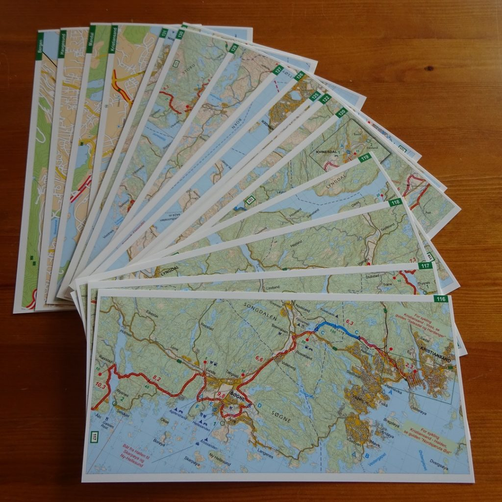 Norway - West map set
