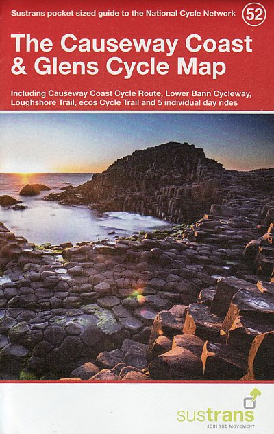 Causeway Coast and Glens Sustrans Cycle Map