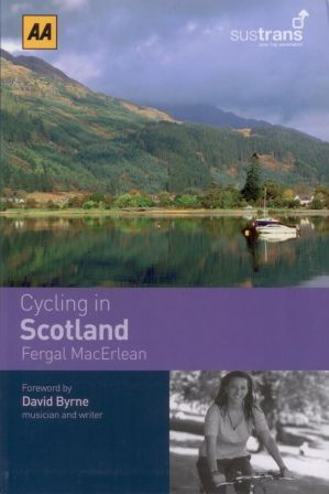 Cycling in Scotland - AA guide book