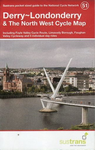Derry - Londonderry and The North West Sustrans Cycle Map