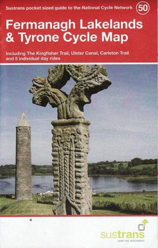 Fermanagh Lakelands & Tyrone Sustrans Cycle Map