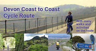 Devon Coast to Coast Cycle Route by Eoscycling