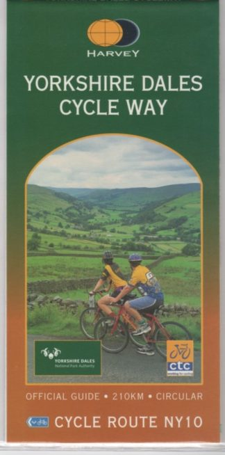 Yorkshire Dales for Cyclists, Harvey map