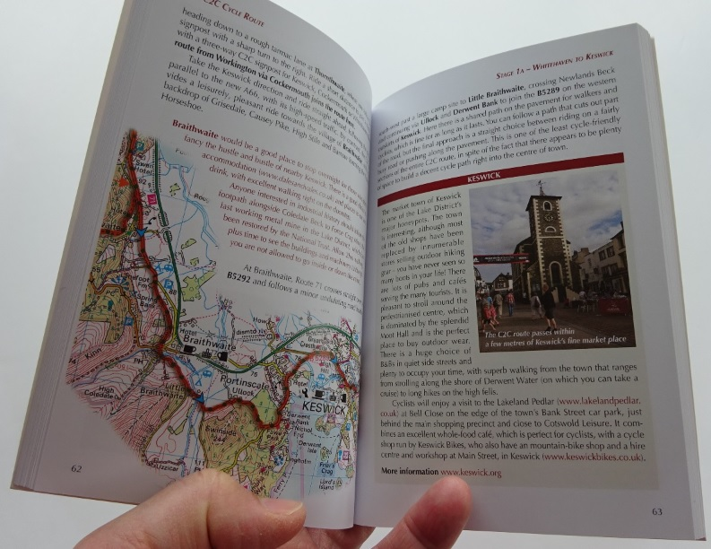 The C2C Cicerone guide book