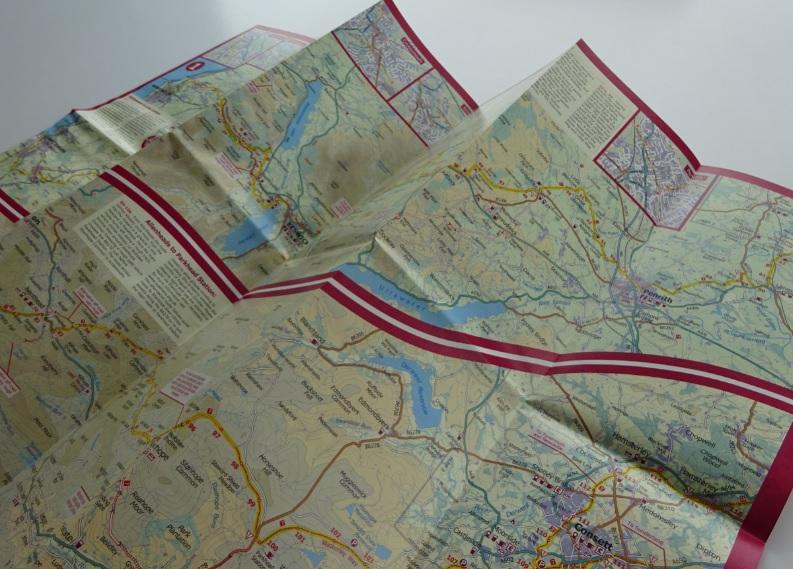 C2C Footprint map
