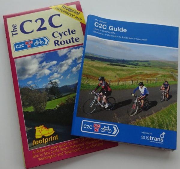 C2C Footprints map and Excellent Books guide book