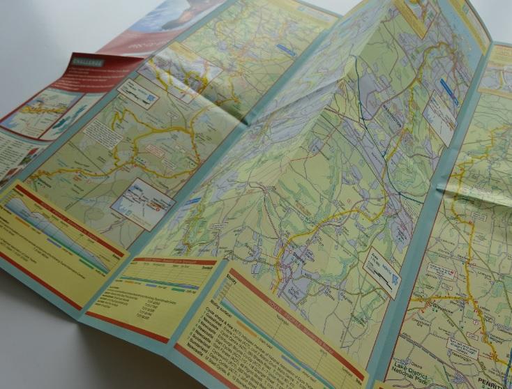 C2C Sustrans map