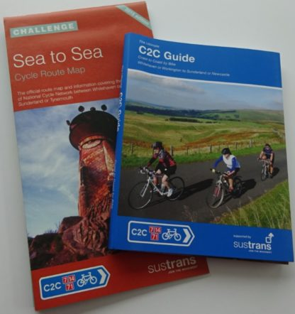 C2C Sustrans maps and Excellent Books guide book