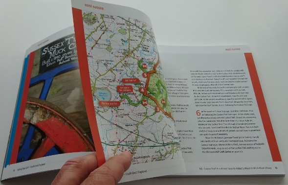 Vertebrate cyle guide books - Cycling Days Out - South East England