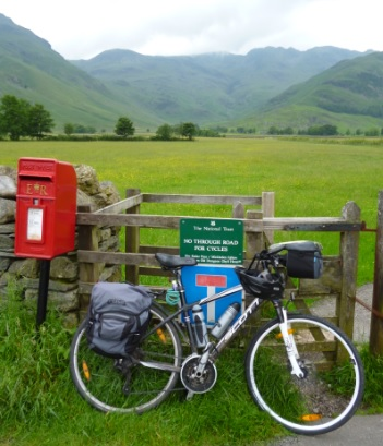 Cycling in Langdale