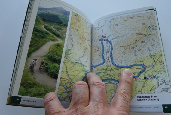 UK cycle maps and guide books - Cumbria