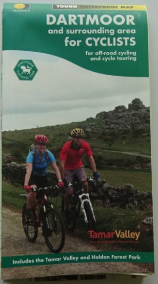 Harvey Dartmoor and Surrounding areas cycle map