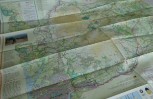 Harvey Dartmoor map - cycle touring side