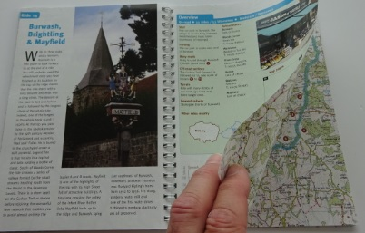 Surrey and West Sussex Cycle Tours sample pages
