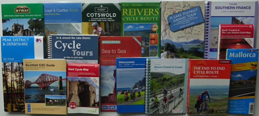 Bike Ride Maps webstore - where to buy cycle maps and cycle touring guide books
