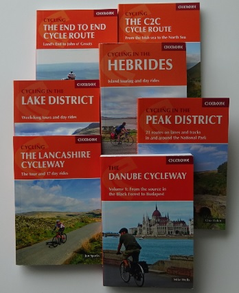Cicerone cycle guide book range
