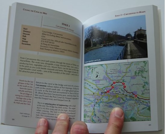Cycling the Canal du Midi - sample pages