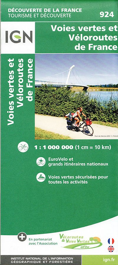 Greenways and Cycle Routes of France